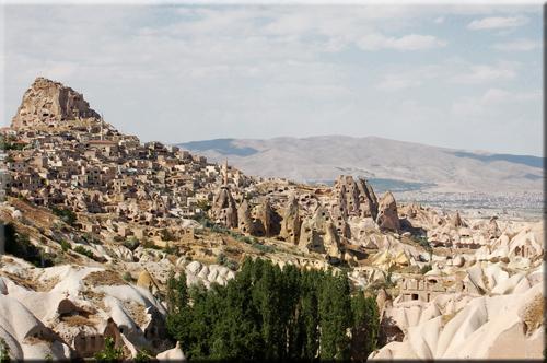 Foto: Uchisar Village in Cappadocia