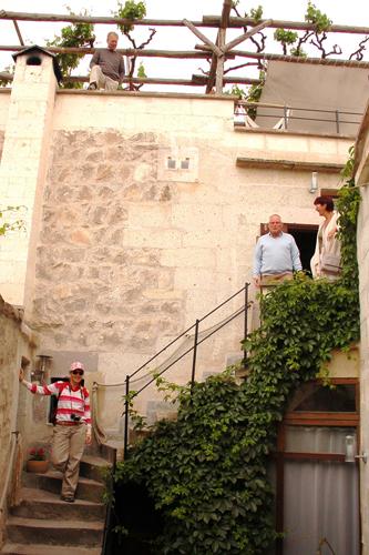 Foto: Unsere Gäste - Ready to go / ASMALI CAVE HOUSE Kleines Höhlen Hotel in Kappadokien, Türkei