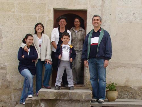 Foto: Unsere Gäste - Alle gemeinsam / ASMALI CAVE HOUSE Kleines Höhlen Hotel in Kappadokien, der Insider Tipp für den individuellen Urlaub in der Türkei