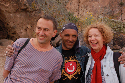 Foto: Unsere Gäste - Abenteuer in Mazata ASMALI CAVE HOUSE Kleines Höhlen Hotel in Kappadokien, Türkei