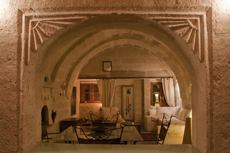 Foto: Detail ASMALI CAVE HOUSE Romantik und Höhlen Hotel in Kappadokien, der Insider Tipp für den individuellen Urlaub in der Türkei