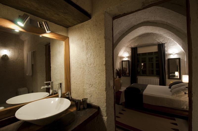 Außergewöhnlich Foto: Badezimmer Der Suite Asmali Odalar   Kleines Höhlenhotel ASMALI CAVE  HOUSE In Kappadokien,