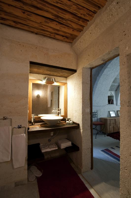 Foto: Badezimmer Der Suite Asmali Odalar   Kleines Höhlenhotel ASMALI CAVE  HOUSE In Kappadokien,