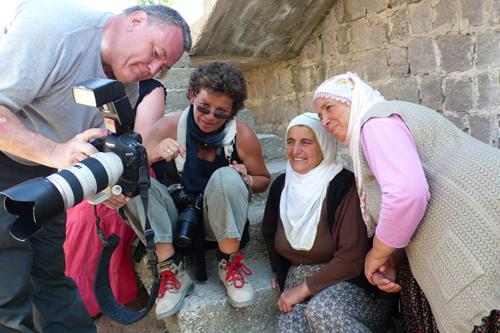 Fotoreise Kappadokien, Amateur Fotografen auf Tour in den Tälern Kappadokiens, Türkei