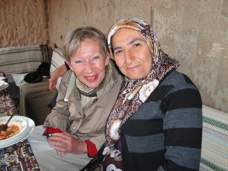 Foto: Unsere Gäste ASMALI CAVE HOUSE Kleines Höhlen Hotel in Kappadokien, Türkei