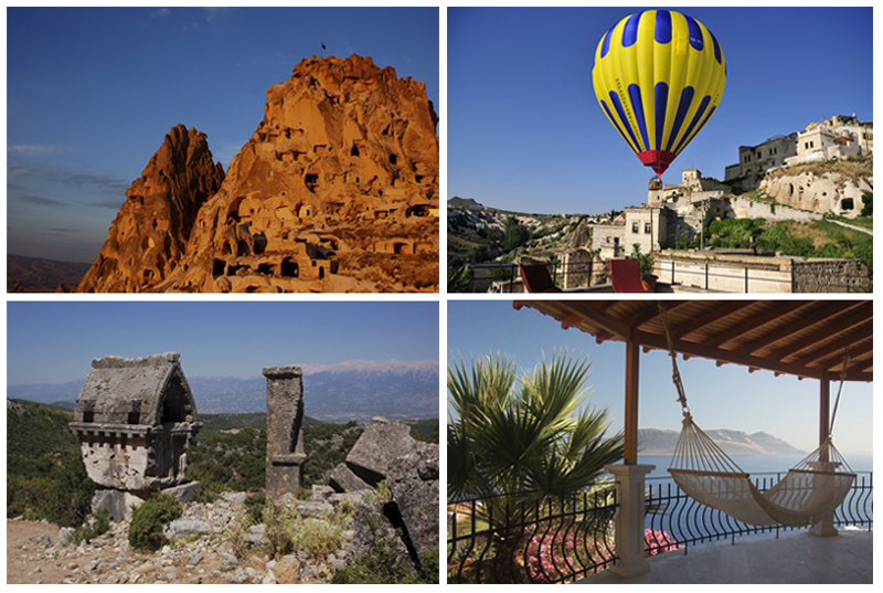 Combined Travel - Cappadocia and the Lycian Coast - Combine culture, history and tradition with sea and sun