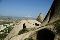 Image: Han Mahalle of Uchisar in Cappadocia, Turkey. Home of ASMALI CAVE HOUSE - small Cave Hotel