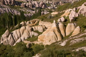 Image: Pigeon Valley in Cappadocia, Turkey