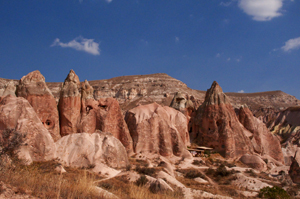 Image: Red Valley in Cappadocia, Turkey