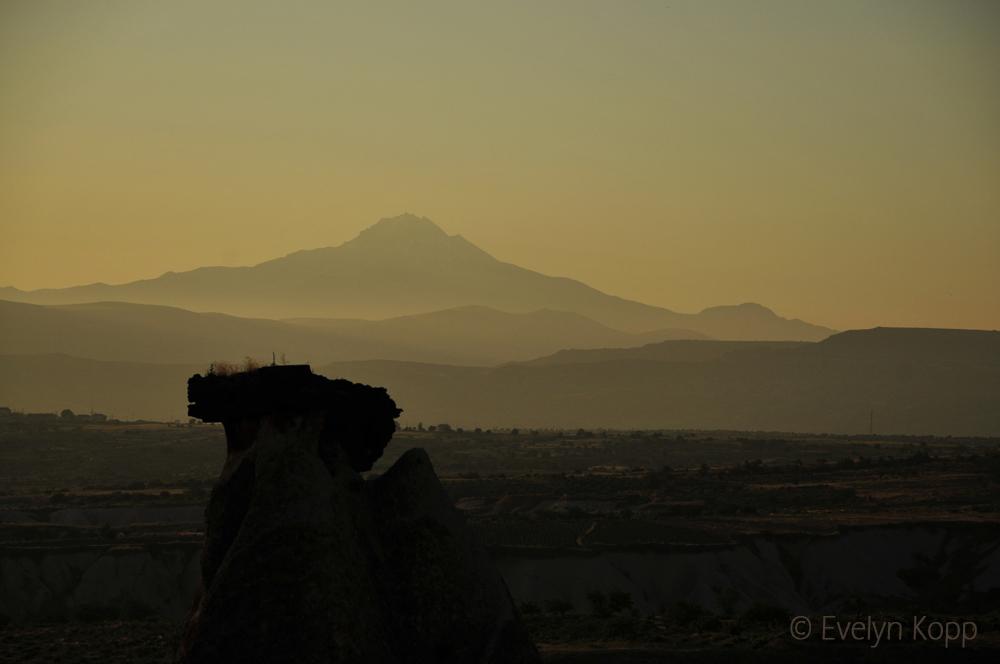 Image: Mount Erciyes - the creator of Cappadocia in the heart of Turkey