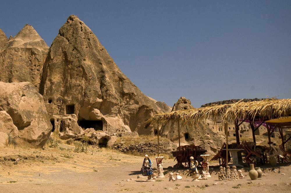 Foto: Das Dorf Selime | von Evelyn Kopp ASMALI CAVE HOUSE Höhlenhotel Kappadokien