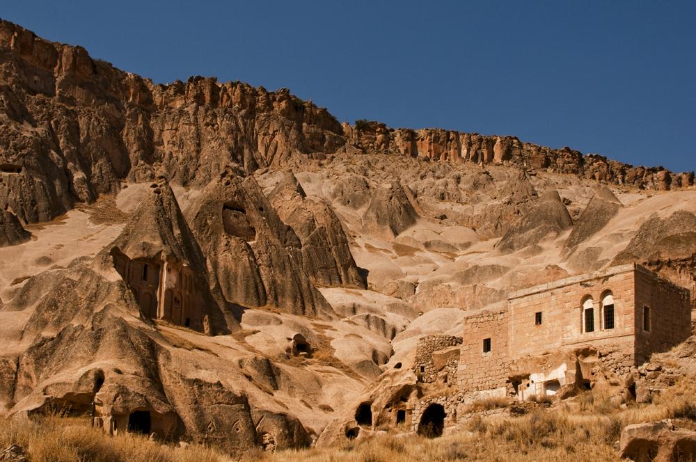 Foto: Asagi Mahalle in Uchisar, Kappadokien - Türkei