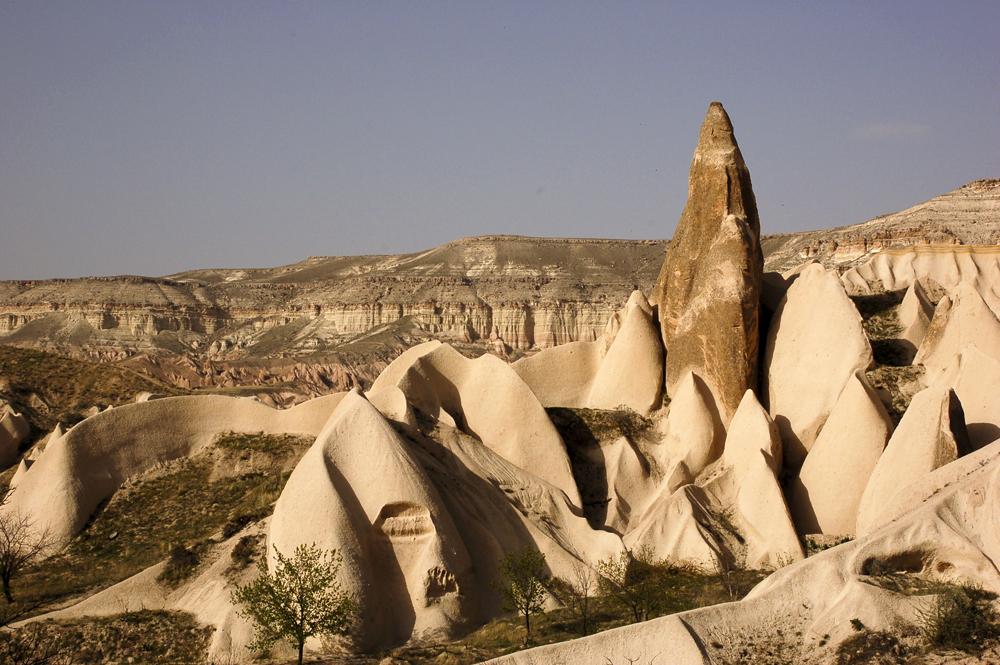 Foto: Schwertertal in Kappadokien, Türkei (nahe Göreme)