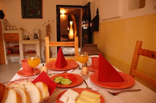 Frühstück in der eigenen Suite oder auf der privaten Terasse