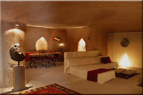 More Photos of the Cave Suite Kaya Odalar in ASMALI CAVE HOUSE the small Boutique and Cave Hotel in Cappadocia, your holiday home in Turkey