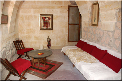 More Photos of the suite Şırahane in ASMALI CAVE HOUSE the small Boutique and Cave Hotel in Cappadocia, your holiday home in Turkey