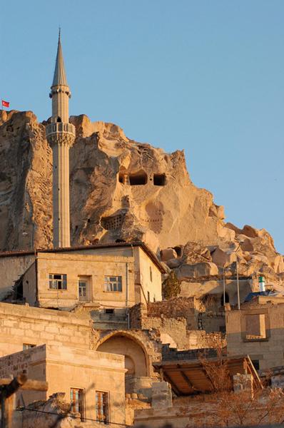 Foto: Uchisar in Kappadokien, Türkei