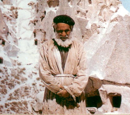 Photo: Cici Ahbap - the Clairvoyant of Uchisar in Cappadocia, Turkey