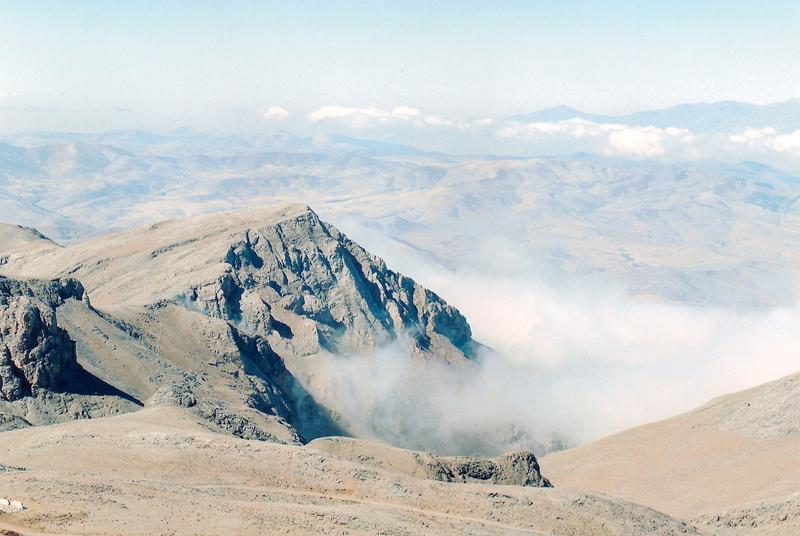 Foto: Berge Kappadokiens, Türkei