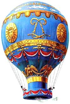 Geschichte der Ballonfahrt (Foto: Wikipedia)