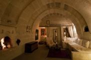 Foto: Wohnzimmer der Suite Asmali Odalar - Kleines Höhlenhotel ASMALI CAVE HOUSE  in Kappadokien, Türkei