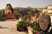 Foto: Terasse der Suite Asmali Odalar - Kleines Höhlenhotel ASMALI CAVE HOUSE  in Kappadokien, Türkei
