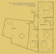 Raumplanung der Suite Asmali Odalar - ASMALI CAVE HOUSE -  Kleines Höhlen Hotel in Kappadokien, Türkei