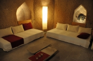 Photo: Livingroom of Cave Suite Kaya Odalar - ASMALI CAVE HOUSE small Cave Hotel in Cappadocia, Turkey