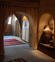 Photo: Entrance of Cave Suite Kaya Odalar - ASMALI CAVE HOUSE small Cave Hotel in Cappadocia, Turkey