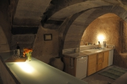 Photo: Kitchen of Cave Suite Kaya Odalar - ASMALI CAVE HOUSE small Cave Hotel in Cappadocia, Turkey