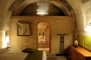 Photo: Master Bedroom of Cave Suite Kaya Odalar - ASMALI CAVE HOUSE small Cave Hotel in Cappadocia, Turkey