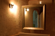 Photo: Bathroom of Cave Suite Kaya Odalar - ASMALI CAVE HOUSE small Cave Hotel in Cappadocia, Turkey