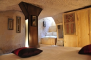 Photo: Cave Bedroom of Suite Kaya Odalar - ASMALI CAVE HOUSE small Cave Hotel in Cappadocia, Turkey
