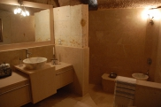 Photo: Cave Bathroom of Suite Kaya Odalar - ASMALI CAVE HOUSE small Cave Hotel in Cappadocia, Turkey