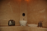 Detail Photo: Cave Bathroom of Suite Kaya Odalar - ASMALI CAVE HOUSE small Cave Hotel in Cappadocia, Turkey