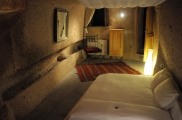Photo:Bedroom of Cave Suite Kaya Odalar - ASMALI CAVE HOUSE small Cave Hotel in Cappadocia, Turkey