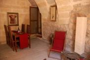 Foto: Esszimmer der Suite Sirahane ASMALI CAVE HOUSE Kleines Höhlen Hotel in Kappadokien, Türkei