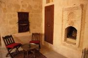 Foto: Schlafzimmer Suite Sirahane ASMALI CAVE HOUSE Kleines Höhlen Hotel in Kappadokien, Türkei