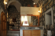 Foto: Badezimmer Suite Sirahane ASMALI CAVE HOUSE Kleines Höhlen Hotel in Kappadokien, Türkei