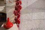 Detail-Foto: Terasse der Suite Sirahane ASMALI CAVE HOUSE Kleines Höhlen Hotel in Kappadokien, Türkei