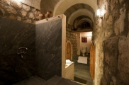 Photo: Bathroom of Suite Şırahane ASMALI CAVE HOUSE Small Cave Hotel in Cappadocia, Turkey