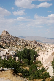 Image: Aşağı Mahalle - The historic part of Uchisar Village in Cappadocia, Turkey