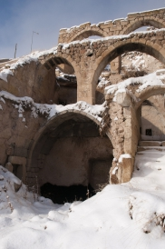 Image: Winter in  Uchisar, Cappadocia (Photo by Evelyn Kopp - Hotel ASMALI CAVE HOUSE in Cappadocia, Turkey