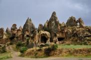 Foto: Schwertertal in Kappadokien, Türkei | Photo by Evelyn Kopp, Höhlenhotel Asmalı Cave House Kappadokien