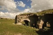 Foto: Das Dorf Derbentbaşı und die Umgebung  | Fotos von Evelyn Kopp ASMALI CAVE HOUSE Höhlenhotel in Kappadokien, Türkei