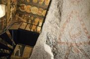 Foto: Die Fresken der Johannes-Kirche in Gülsehir | Foto von Evelyn Kopp ASMALI CAVE HOUSE Höhlenhotel in Kappadokien, Türkei
